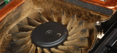 7071172 - laptop dirty fan