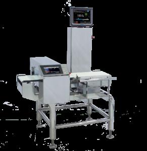 Checkweigher with metal detector_Weight Checker_Kontrollwaage_Dynamische Kontrollwaage mit Metall Detektor