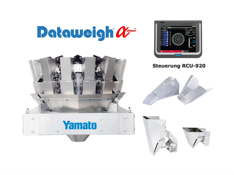 Yamato Mehrkopfwaage für Wiegung und Dosierung von Nüssen,getrockneten Früchten, Cerealien, Snacks