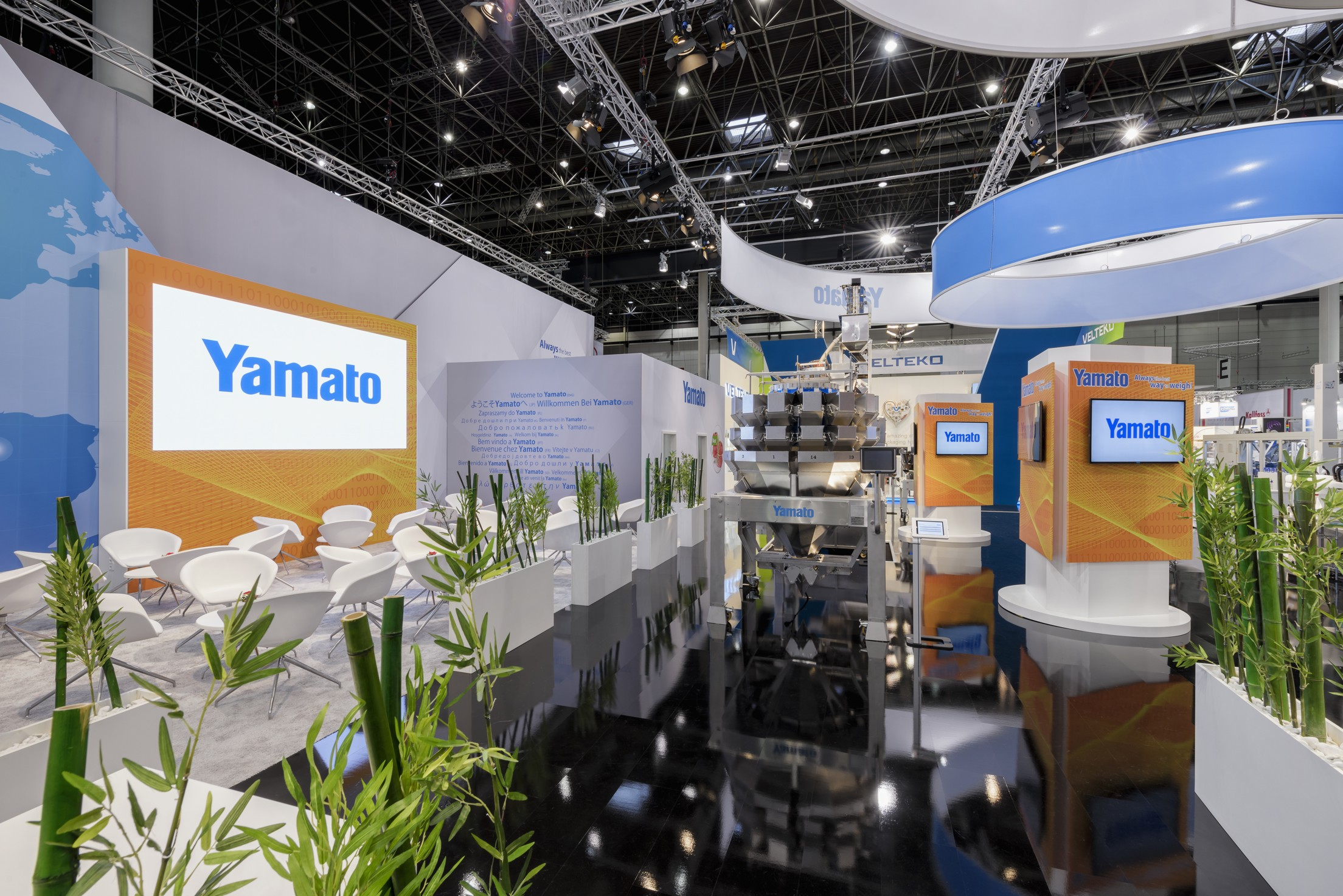 Yamato Scale Europe | Trade Fairs in Europe 2020 and 2021
