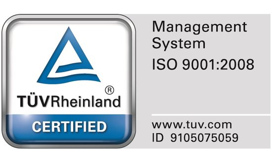 Yamato is certified according to DIN EN ISO 9001:2015